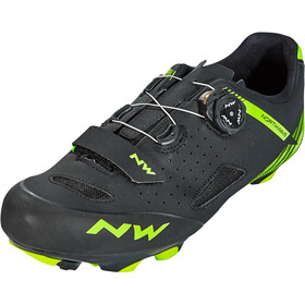 Northwave Origin Plus Shoes Herre black/green